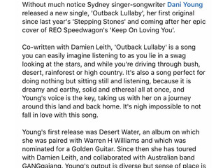 The reviews are in... Outback Lullaby is a hit!