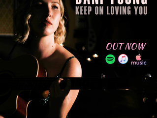 DANI YOUNG RELEASES COUNTRY REMAKE OF 80'S CLASSIC, KEEP ON LOVING YOU