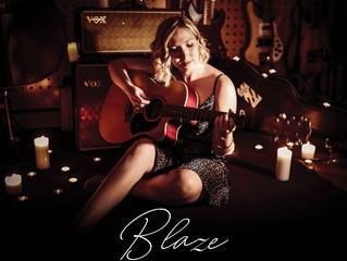 DANI YOUNG RELEASES HEARTFELT NEW SINGLE 'BLAZE'