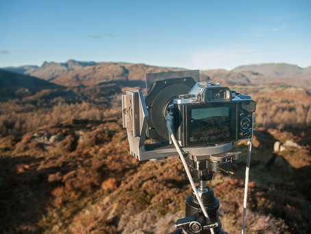 Using graduated ND filters on mirrorless cameras