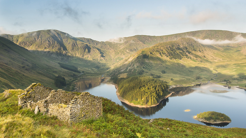 Haweswater, High Street, Harter Fell from the Old Corpse Road