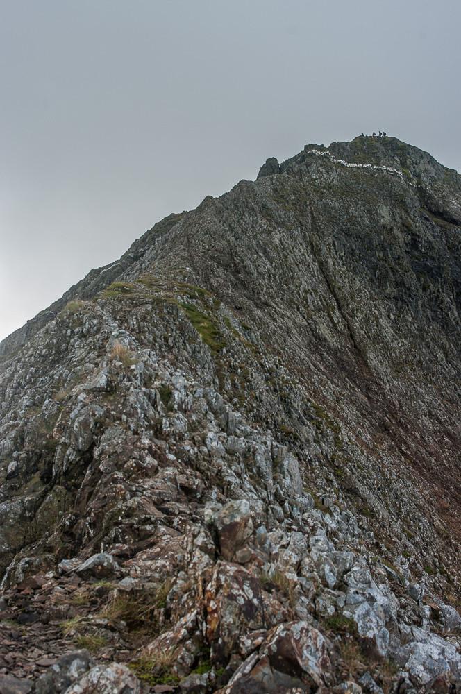Crib Goch north ridge