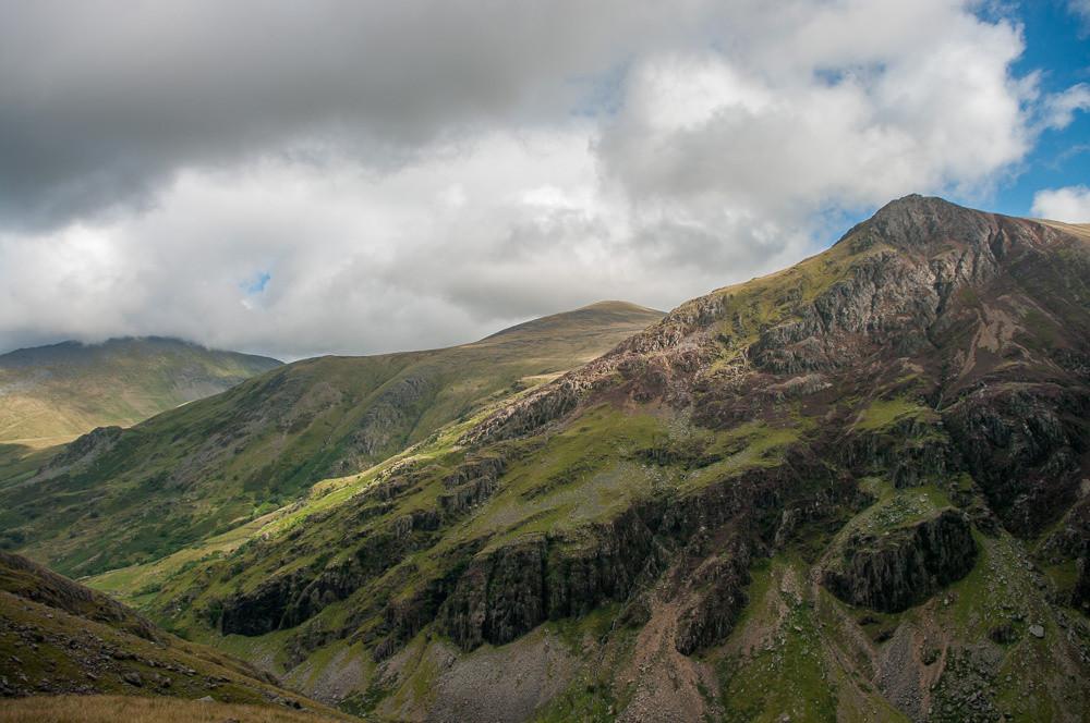 Llanberis pass and Esgair Felen