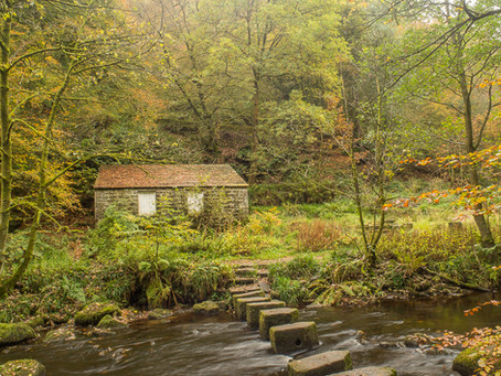 Autumn at Gibson Mill and Hardcastle Crags