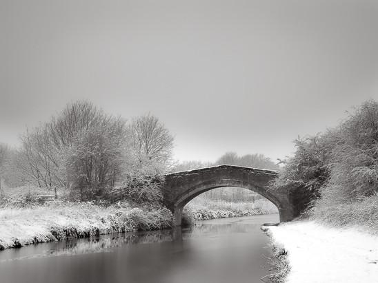 Snow, Bridgewater Canal
