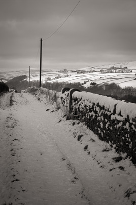 Snowy Lane Heptonstall