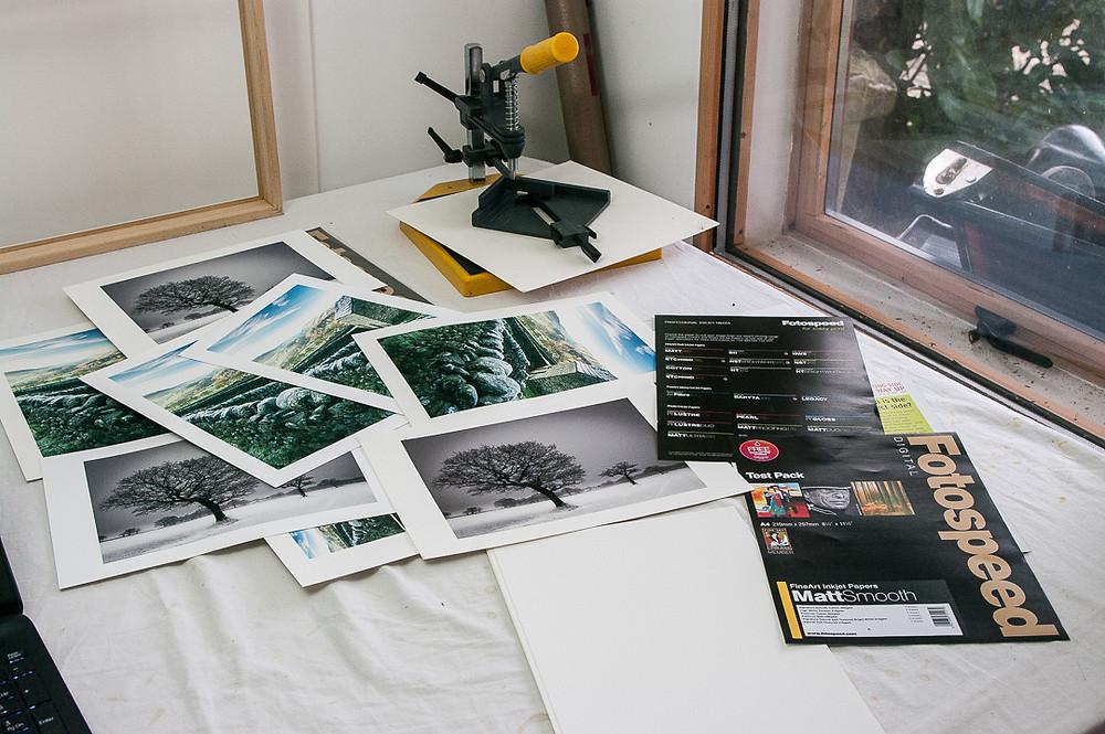 Fotospeed smooth matt papers under test