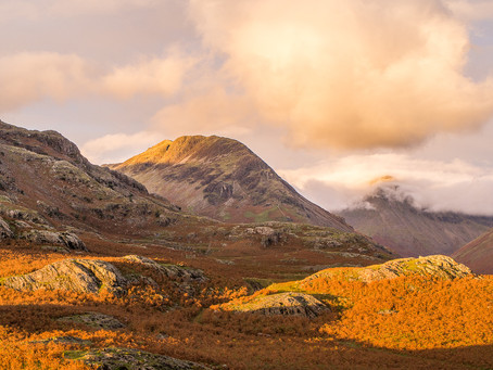 Golden treasure in Wasdale