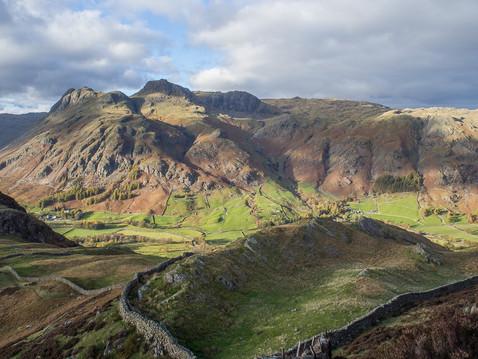 Langdale from Lingmoor Fell