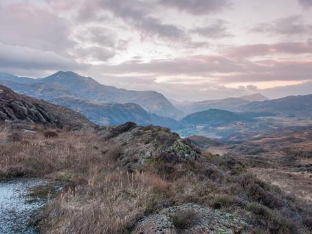 Textures of Snowdonia