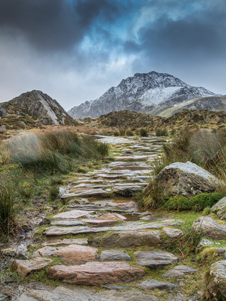 On the way to Tryfan