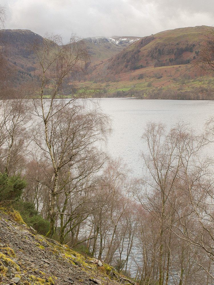Across Ullswater to Sheffield Pike
