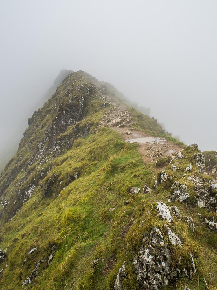 The Bwlch Main ridge
