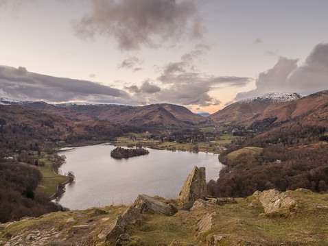 Grasmere from Loughrigg Fell