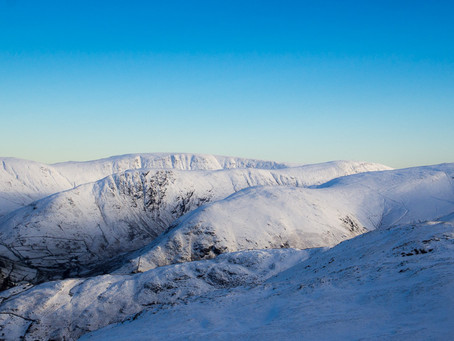 St Sunday Crag Winter Wonderland