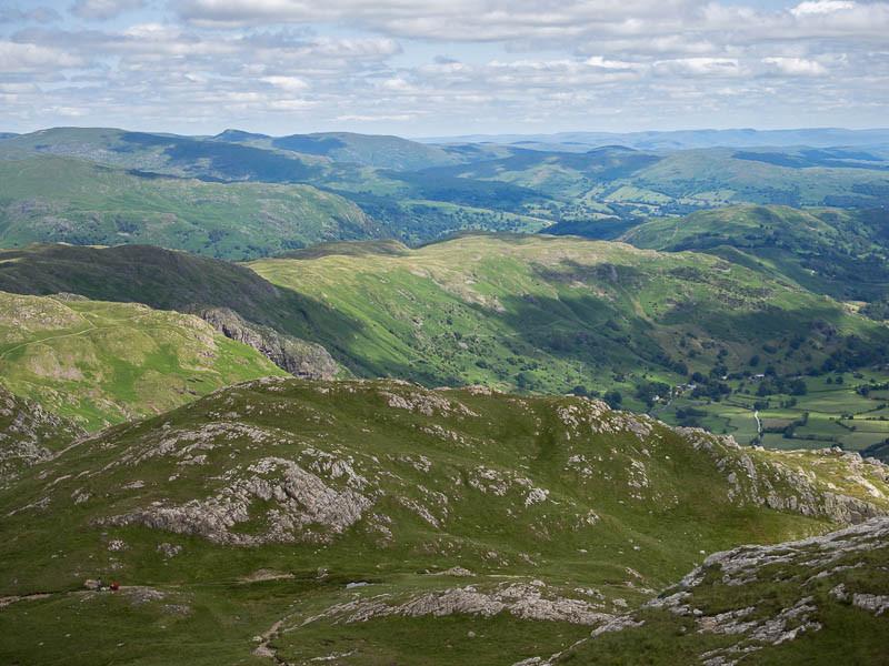 Loft Crag summit view