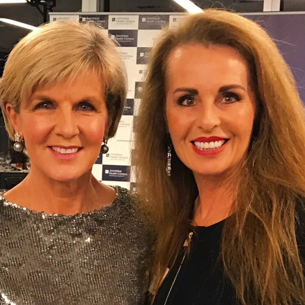 Dianne Laurance & Julie Bishop