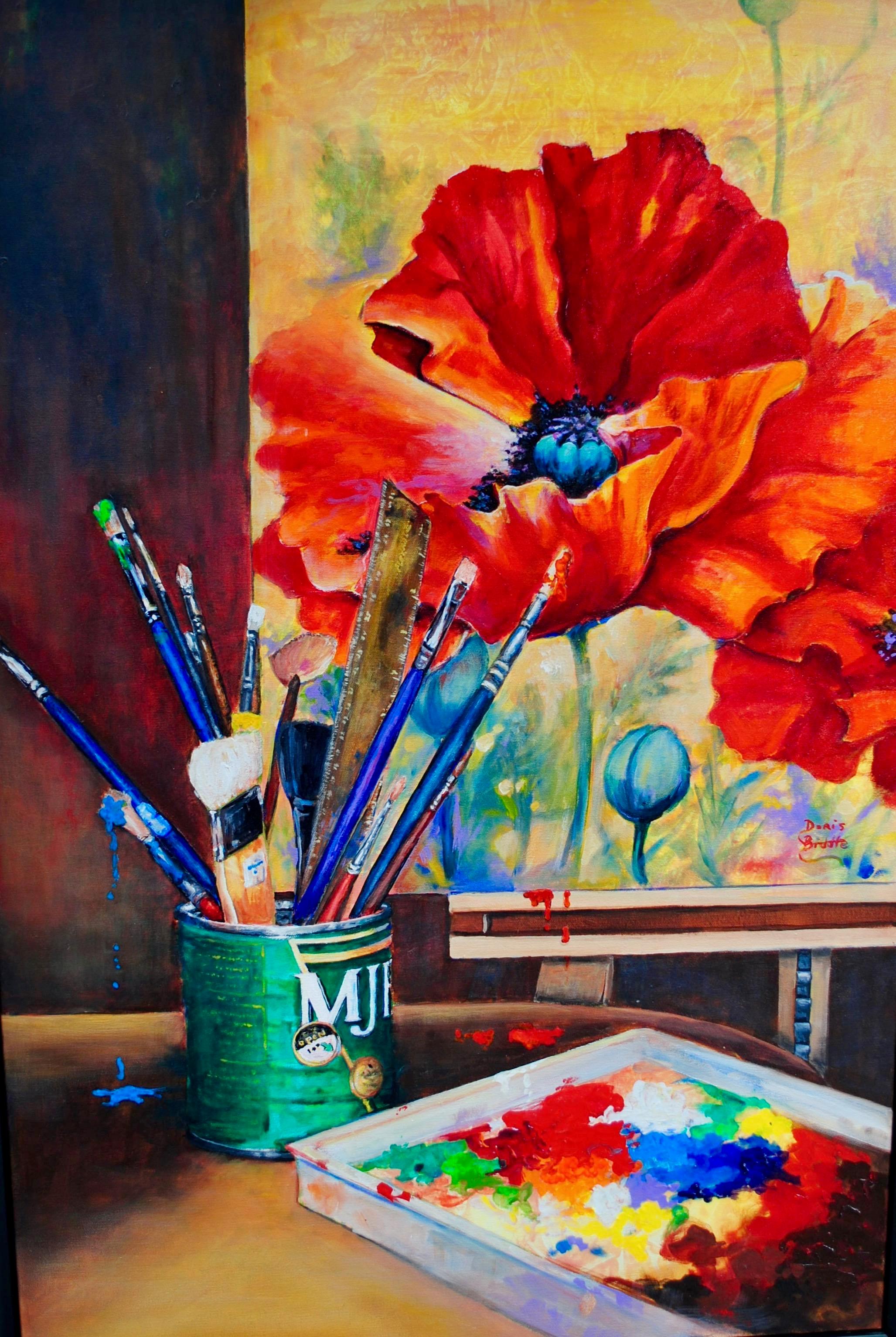 Doris Biddle - Fresh Paint