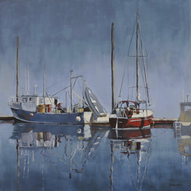"Isabel Gibson ""By the Dock"""