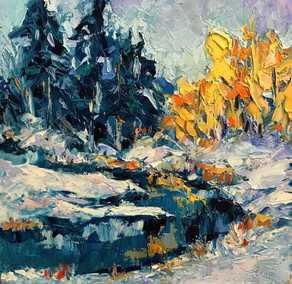 """Victor Gligor """"First Day of Winter"""""""