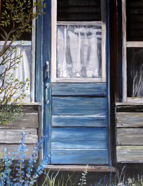 "Jean Abbott ""Barkerville Blue"""