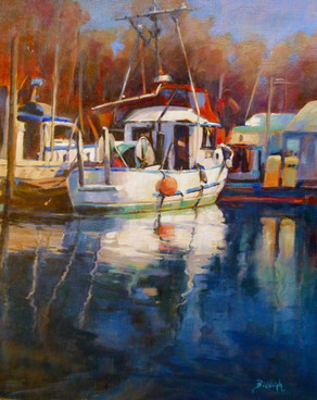 "Beverley Biddulph ""Ladner Fish Boats"""