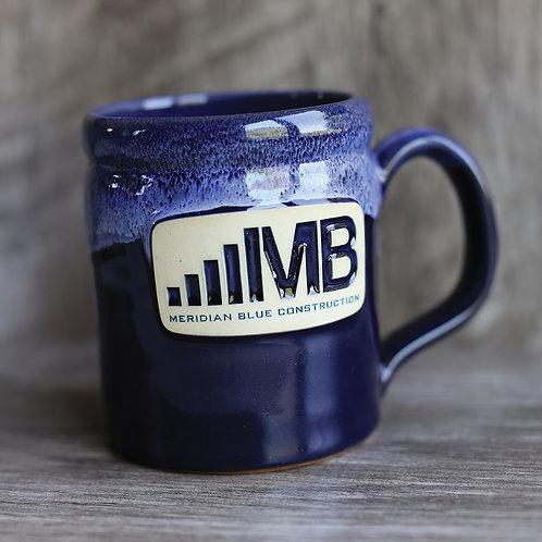 Meridian Blue Handmade Mug