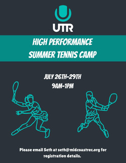 High Performance Tennis Camp