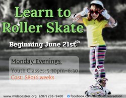 Learn to Roller Skate  Youth