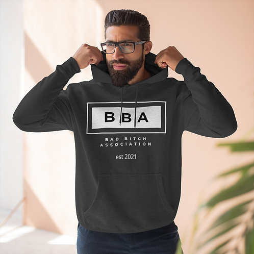 Bad Bitch Association Unisex Premium Pullover Hoodie