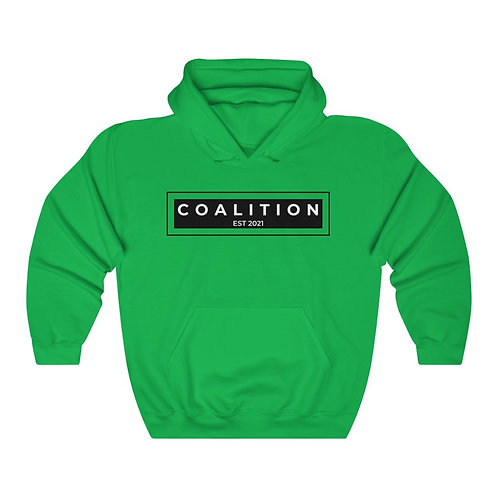 Men's Coalition Heavy Blend™ Hooded Sweatshirt