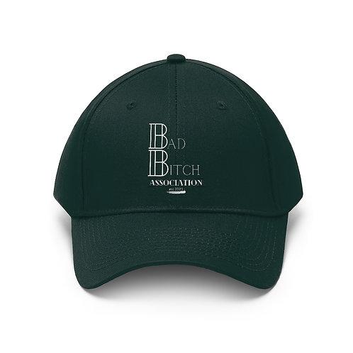 Bad Bitch Association Unisex Twill Hat