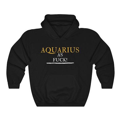Aquarius As Fuck Unisex Heavy Blend™ Hooded Sweatshirt