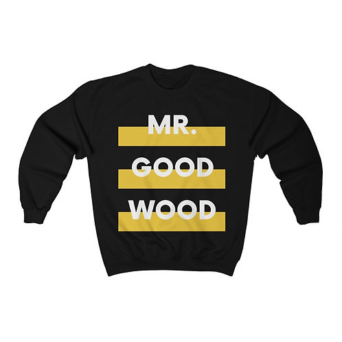 Mr. Good Wood Unisex Heavy Blend™ Crewneck Sweatshirt
