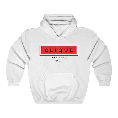 Red Bad Boys Clique Unisex Heavy Blend™ Hooded Sweatshirt