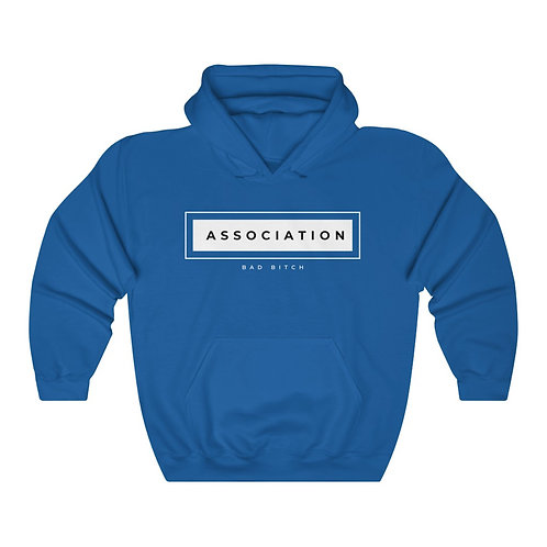 Bad Bitch Association Unisex Heavy Blend™ Hooded Sweatshirt