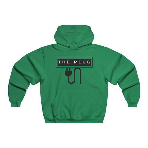 Black The Plug Hooded Sweatshirt