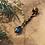 Thumbnail: Bohemian dreadlock kraal pendant