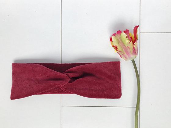 Haarband Velvet Vintage Rood