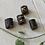 Thumbnail: Dreadlock beads leer 4 stuks