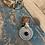 Thumbnail: Kuchi coin bead blue