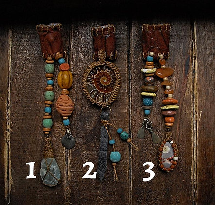 Dreadbead pottery beads