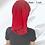 Thumbnail: Haarband basic Red