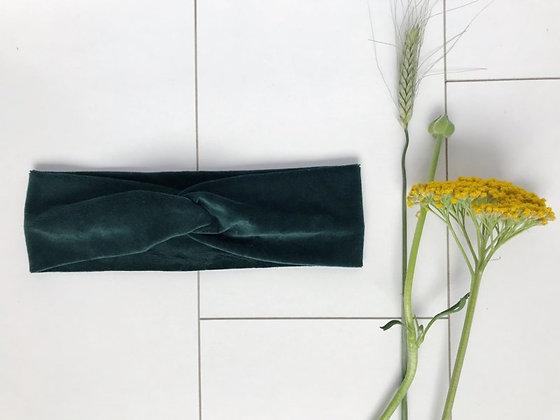 Haarband Velvet Turquoise