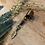 Thumbnail: Dreadlock bead Veertje blauw