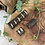 Thumbnail: Dreadlock beads leer 3 stks
