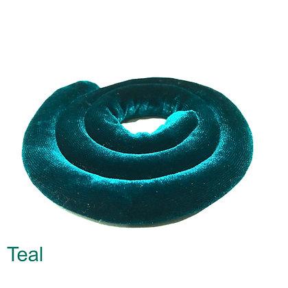Spiralock Teal  Velvet 40 cm