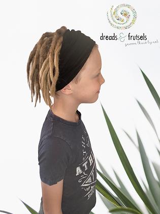 Basic haarband Zwart