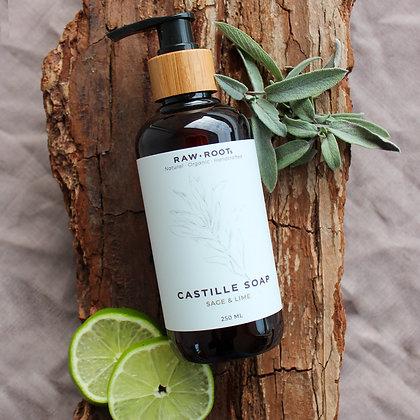 RAWROOTs Sage&Lime shampoo