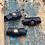 Thumbnail: Leren Dreadlock beads 3 stuks Blue